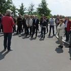 IT: Proteste gegen Stellenabbau bei IBM in Berlin