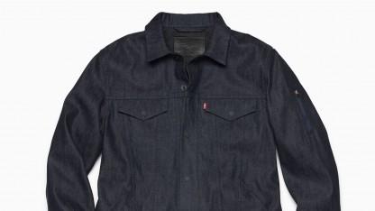 Unter anderem diese smarte Jacke wird Google in den Handel bringen.
