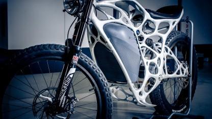 Der Light Rider wiegt nur 35 Kilogramm.