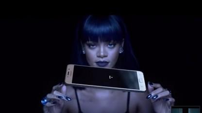 Samsung-Werbung mit Rihanna