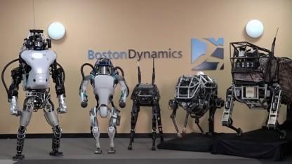 Die Roboterfamilie von Boston Dynamics