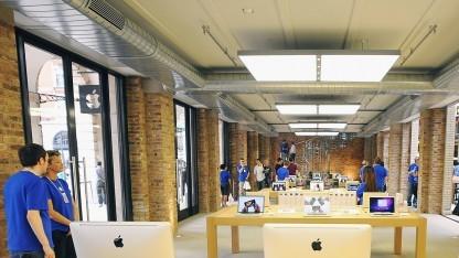Ein Apple Store von innen