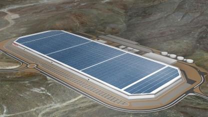 Gigafactory in der vollen Ausbaustufe