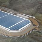 Riesiges Produktionsgebäude: Ende Juli wird die Tesla Gigafactory eröffnet