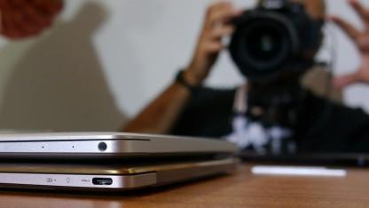 Macbook gegen Zenbook 3