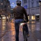 Velohub Blinkers: Blinker und Laserabstandhalter fürs Fahrrad
