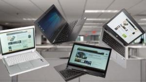 Klein und leicht können Notebooks sein, ohne dass der Anwender auf Anschlüsse verzichten muss.