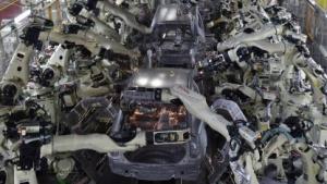 Roboter in der Autoproduktion