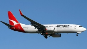 Eine Boeing 737 von Qantas
