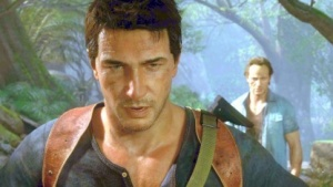 Hauptfigur Nathan Drake in Uncharted 4