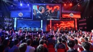 League of Legends bei einem Turnier in Frankreich