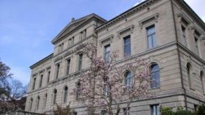 Das Regierungsgebäude der Stadt Zug