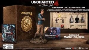 Sammlerausgabe von Uncharted 4