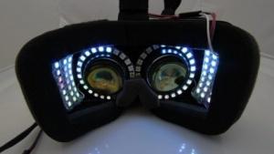 Oculus Rift mit Sparse Peripheral Display
