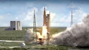 Raketenstart (Symbolbild): Patente für Flügelprofile, Schubdüse und Raketensicherheit befreit