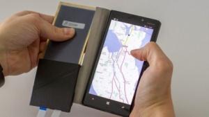 Das Flexcase-Cover besteht aus einem druckempfindlichen E-Paper-Display.