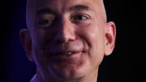 Amazon-Chef Jeff Bezos auf der Transformers-Veranstaltung