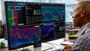 Dell P4317Q für die Finanzbranche