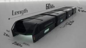 Transit Elevated Bus: Platz für 1.400 Passagiere