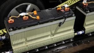 Lithium-Ionen-Batterie eines Chevrolet Volt
