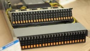 Supermicros Superstorage-System unterstützt NVMe-SSDs mit U.2-Anschluss.