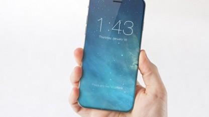 Entwurf des iPhone 7 durch einen Grafikkünstler