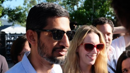 Google-Chef Sundar Pichai auf der Google I/O 2016