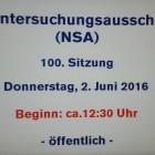 Auftrag erweitert: NSA-Ausschuss darf BND-Affäre selbst aufklären