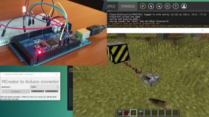 Mit Minecraft eine LED steuern
