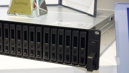 Synologys neue Flashstation kommt im Laufe des Jahres 2016 auf den Markt.
