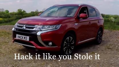 Der Mitsubishi-Outlander ist ein Plugin-Hybrid mit unsicherem WLAN.