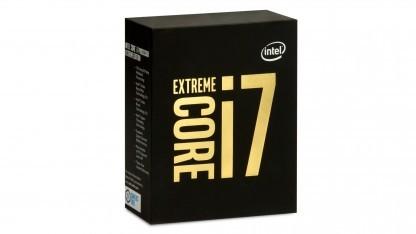 Rendering einer Core-i7-Verpackung