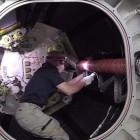 Raumfahrt: ISS-Besatzung betritt Aufblasmodul