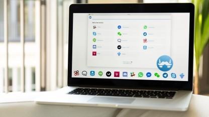 Franz-Messenger vereint die Web-Apps von 14 Messenger-Plattformen.