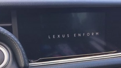 Lexus-Navigationssystem abgestürzt