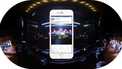 Ein 360-Grad-Foto in Facebooks Newsfeed