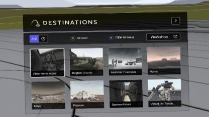 Destinations Workshop Tools