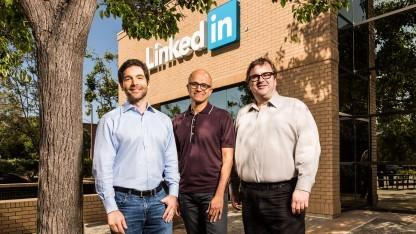 Die Eigner von Microsoft und LinkedIn