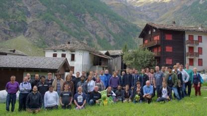 Gruppenfoto des Randa-Meetings im Jahr 2015