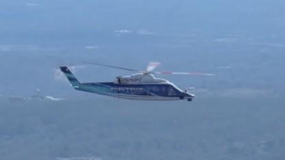 Autonom fliegender Sikorsky S-76