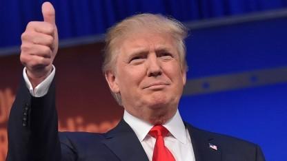 """Das gibt sicher ein """"Like"""" von Donald, er mag Russland ja sehr gern."""