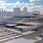 Centairstation: Ein fester Flugzeugträger auf den Gleisen
