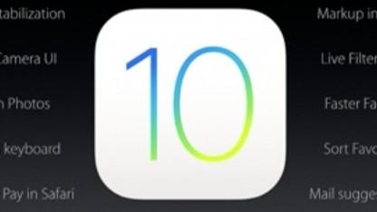 Viele Anwender aktualisierten bereits auf iOS 10.