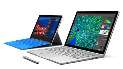 Surface Pro 4 und Surface Book