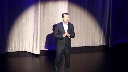 Playstation-Chef Andrew House auf der E3-Pressekonferenz 2016 von Sony