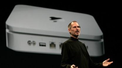Steve Jobs stellt die Time Capsule vor (2008).