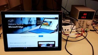 Ein Surface im Testlabor von Microsoft