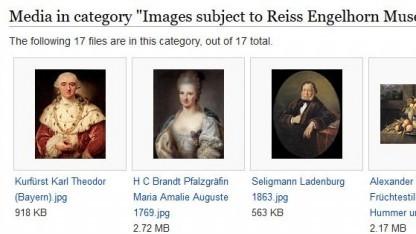 Die Community soll über die Löschung von 17 Bildern eines Mannheimer Museums entscheiden.