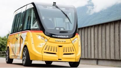 Autonom fahrender Bus
