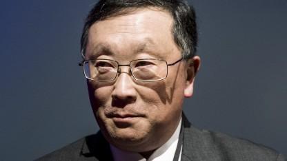 Blackberry-Chef John Chen hofft weiter auf das Smartphone-Geschäft.